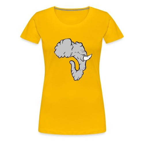 Elefante Perfil - Camiseta premium mujer