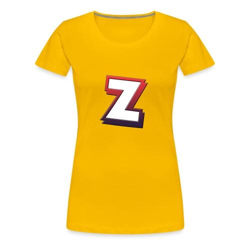 Team-ZeeYz logo - Premium T-skjorte for kvinner
