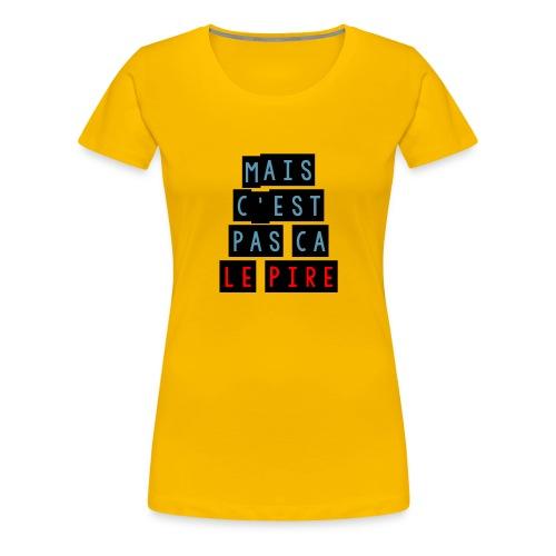 PCLP - T-shirt Premium Femme