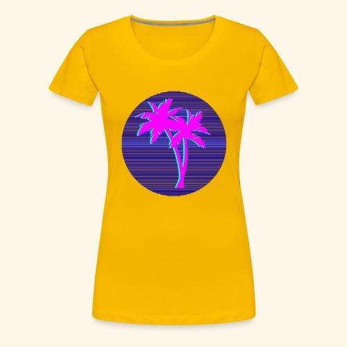 Florida palmtree - T-shirt Premium Femme