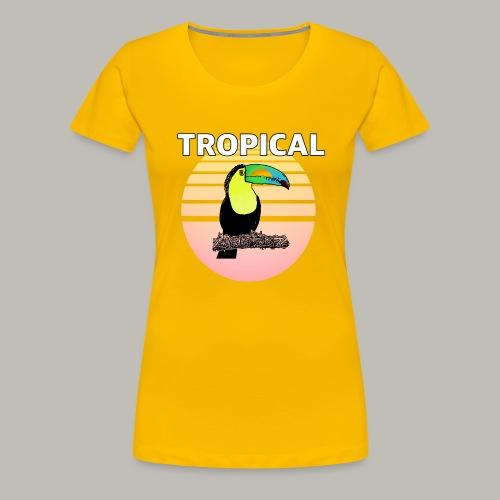 Toucan in the sun - T-shirt Premium Femme