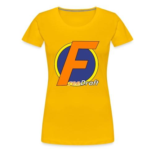 FreeDraft-Tshirt - Frauen Premium T-Shirt