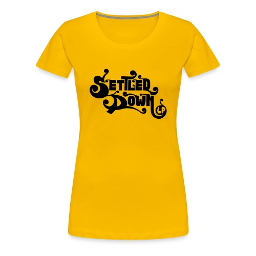 Settled Down LP design - Women's Premium T-Shirt