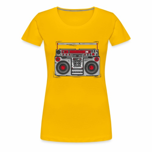 Ghettoblaster - Frauen Premium T-Shirt