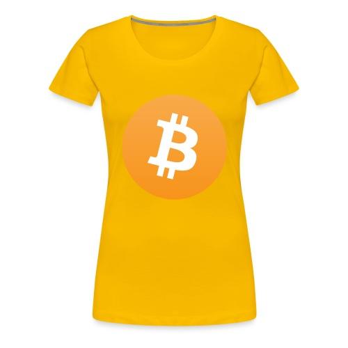 Bitcoin - Vrouwen Premium T-shirt
