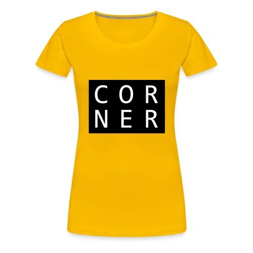 cornerbox - Dame premium T-shirt