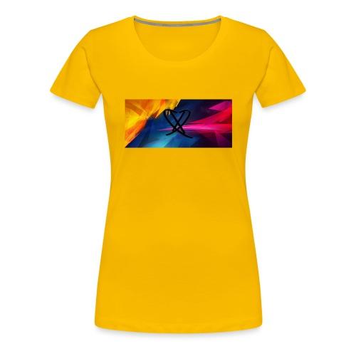 Box_logo_2 - Dame premium T-shirt