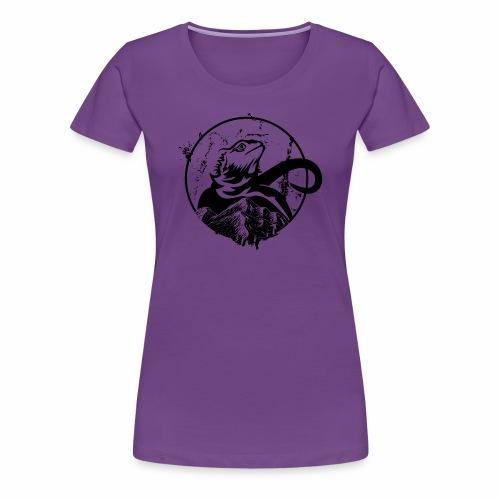 Bearded Dragon - Frauen Premium T-Shirt