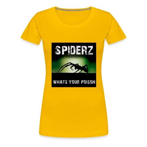 Spiderz main cover 1 - Women's Premium T-Shirt