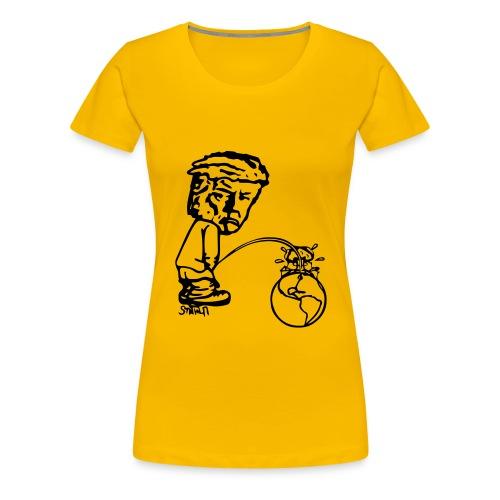 TrumPeeTee - Premium-T-shirt dam