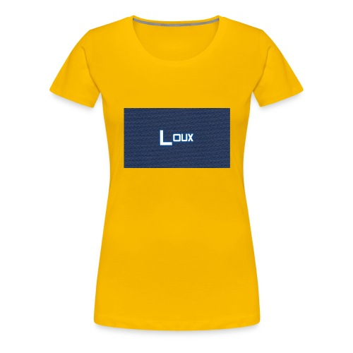 Loux - Dame premium T-shirt