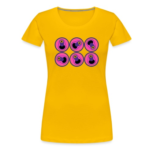 6 PACK - Camiseta premium mujer