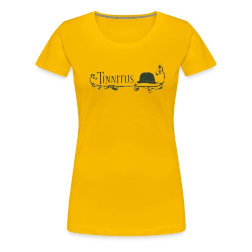 TINNITUS SELFTITLED - Frauen Premium T-Shirt