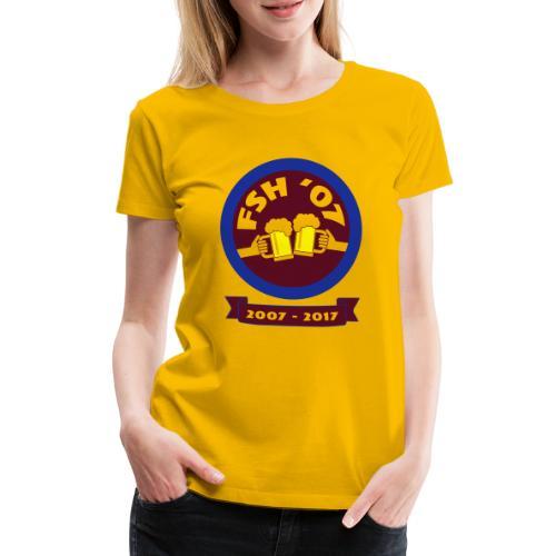FSH RUND ny - Premium-T-shirt dam