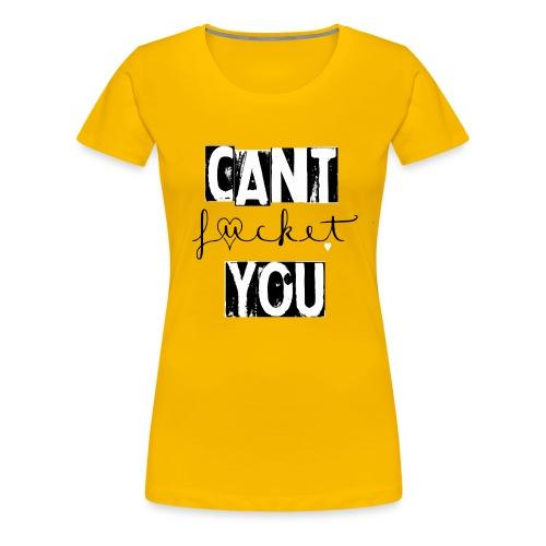 fucketblack - Frauen Premium T-Shirt