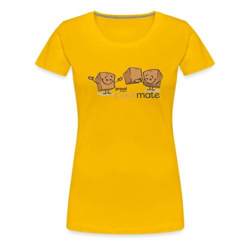 proud packmate - Frauen Premium T-Shirt
