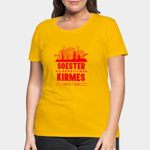 GHB Westfalen Soester Allerheiligenkirmes 81120172 - Frauen Premium T-Shirt
