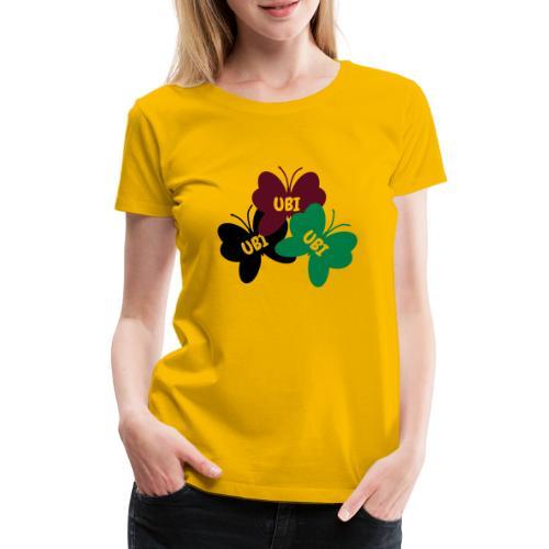 UBI - Be human - free - Women's Premium T-Shirt