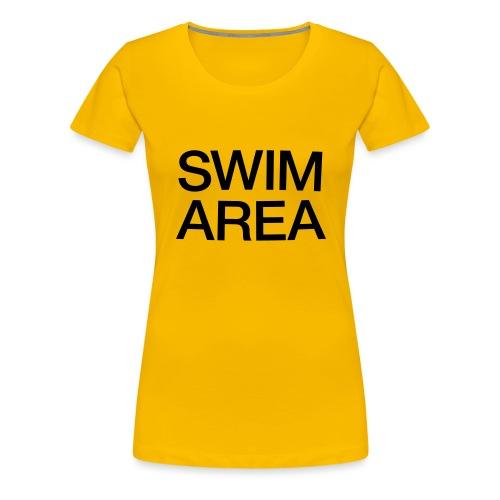 SWIM AREA - Women's Premium T-Shirt