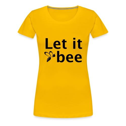 IVW - Let it bee - Frauen Premium T-Shirt