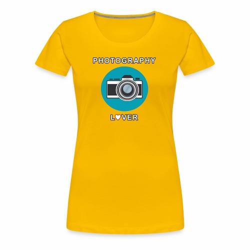 Photography Lover - Maglietta Premium da donna