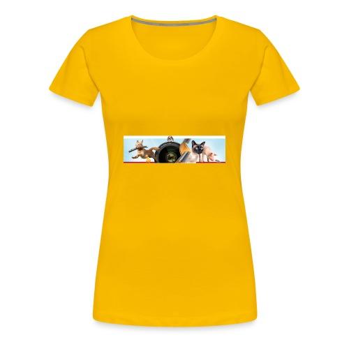Animaux logo - Vrouwen Premium T-shirt