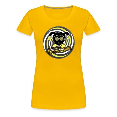 Swirly Quinn - Women's Premium T-Shirt