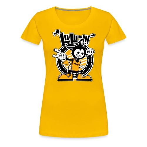 Hi ! Dimokkiz - T-shirt Premium Femme