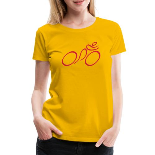 Cycling - Women's Premium T-Shirt