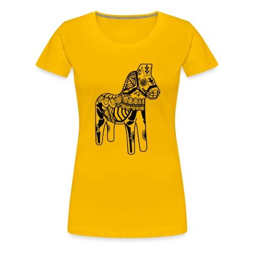 caballo muerto - Premium-T-shirt dam