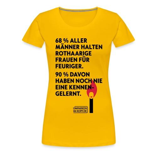 Rothaarige - Frauen Premium T-Shirt