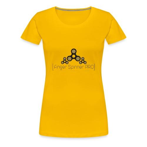 COOLES FINGER SPINNER T-SHIRT FÜR ALLE PRO'S - Frauen Premium T-Shirt
