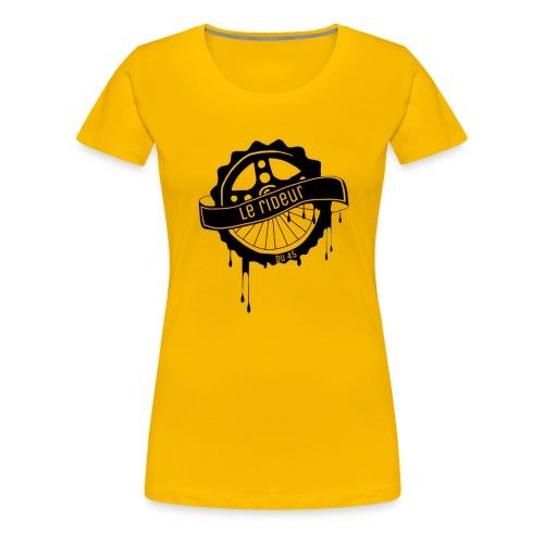 logo Le rideur du 45 noir - T-shirt Premium Femme