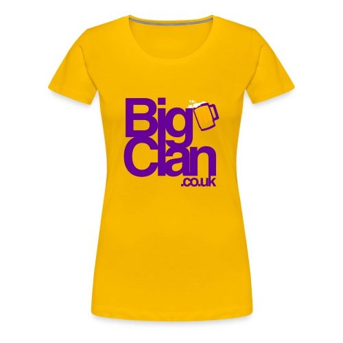 BIg Clan Logo Purple - Women's Premium T-Shirt