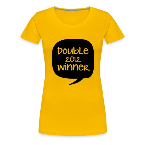 double - Frauen Premium T-Shirt