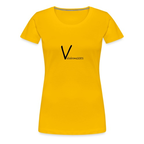 Velodrome2001 logga! - Premium-T-shirt dam