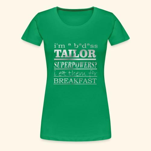 TAILOR - Maglietta Premium da donna