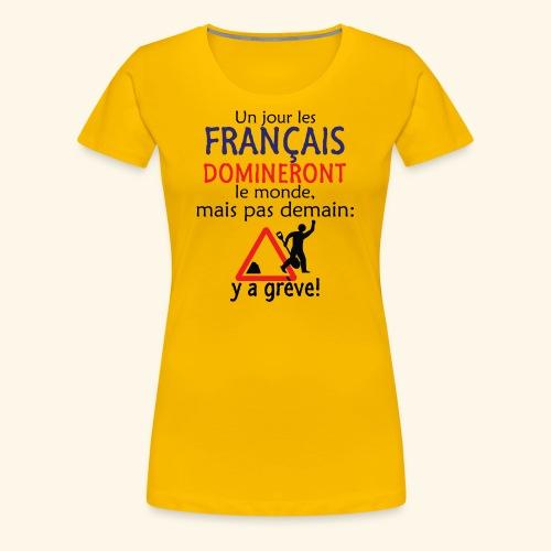 domination française - T-shirt Premium Femme