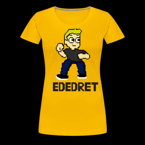 Ededret in grass - Frauen Premium T-Shirt