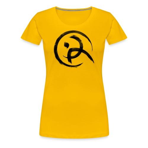 PKA_Enso_black - Frauen Premium T-Shirt