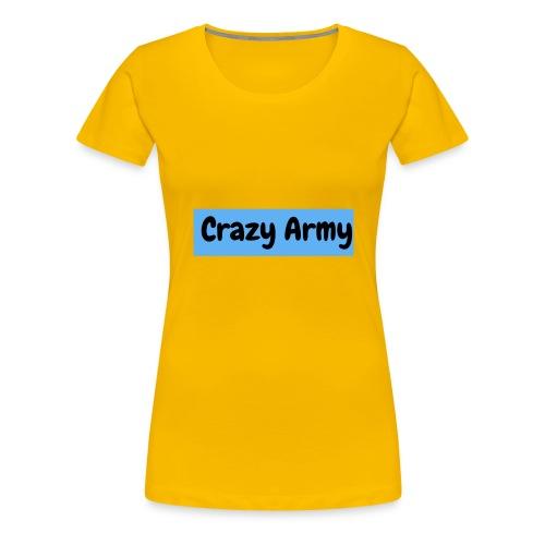 Crazy Army - Premium T-skjorte for kvinner