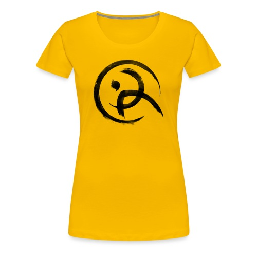 Parkour Austria (schwarzes Symbol) - Frauen Premium T-Shirt