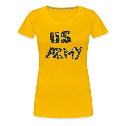 us army - Frauen Premium T-Shirt