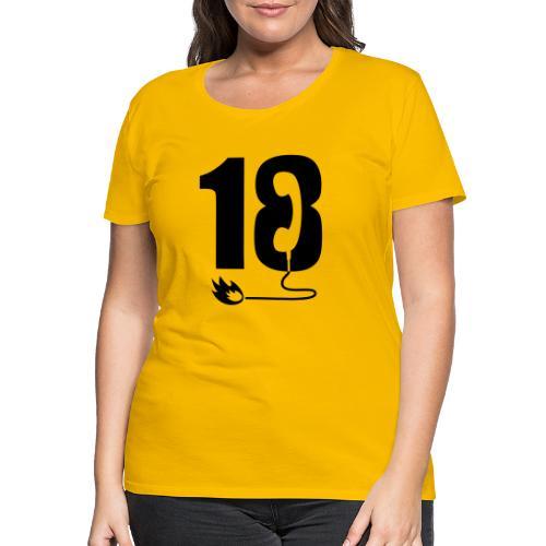 18 - T-shirt Premium Femme