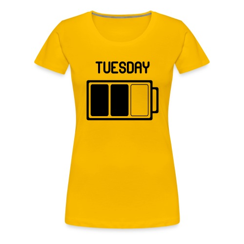 Tuesday - Vrouwen Premium T-shirt