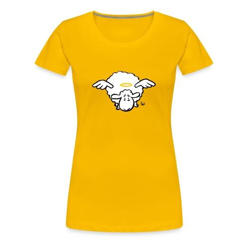 Angel Sheep - Premium T-skjorte for kvinner