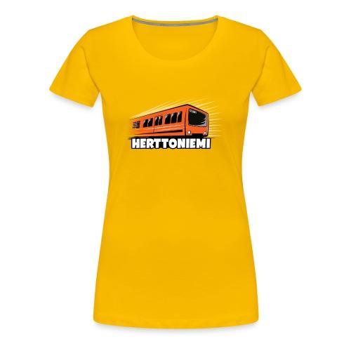 HERTTONIEMI METRO, HELSINKI Tekstiilit ja lahjat - Naisten premium t-paita