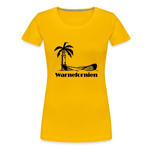rostock5 fo rz vcs - Frauen Premium T-Shirt