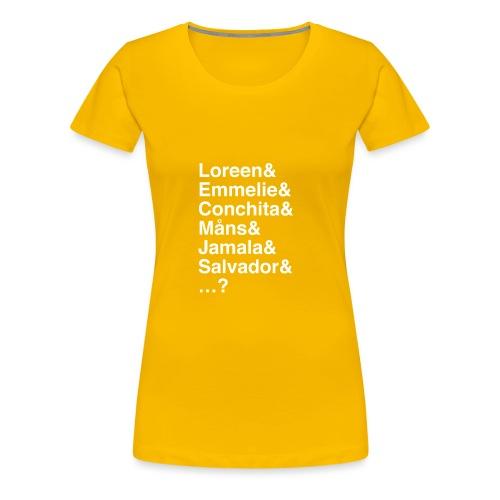 Winners! Who's next? - Women's Premium T-Shirt