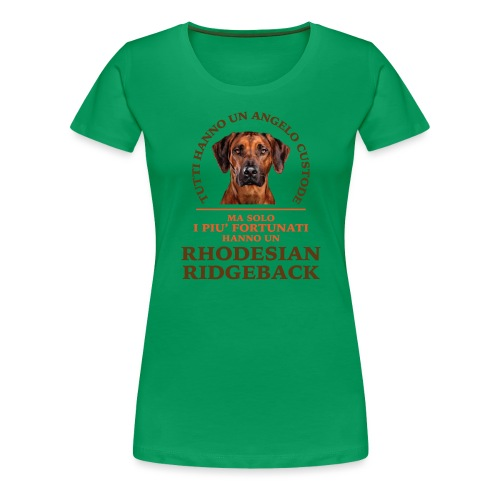 Rhodesian Ridgeback Angelo Custode Giallo - Maglietta Premium da donna